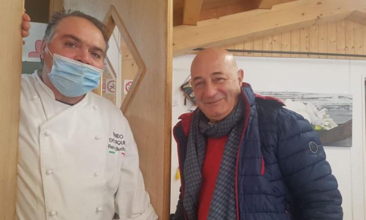 Monte Cavallo, il 'Picchio' volò nel 'Nido dell'Aquila': il calore dell'accoglienza di Renzo Budassi