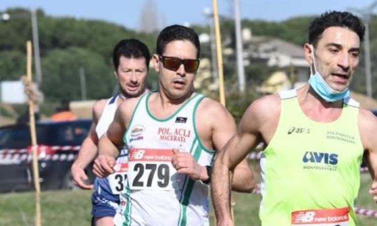 Corsa campestre, trionfo di Rachid Hallibou al campionato regionale: fa festa l'Acli Macerata
