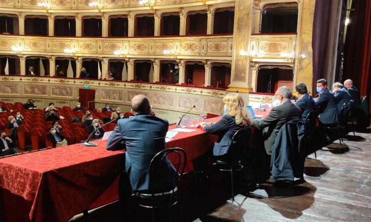 """Legnini incontra Acquaroli e i sindaci del cratere: """"600 cantieri per le opere pubbliche nel 2021"""""""