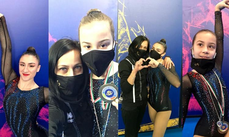 Ginnastica Aerobica, medaglie e Mondiali per la Joy Gym Macerata: Elena Ciccarelli volerà a Baku (FOTO)