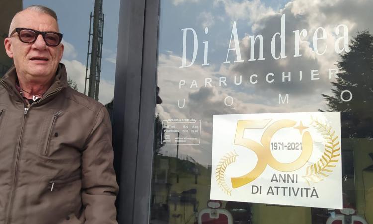 Macerata, Di Andrea Parrucchieri compie 50 anni: quando l'arte della coiffure è una tradizione di famiglia