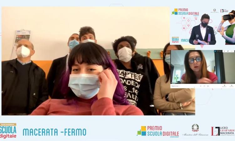 ITE 'A.Gentili' Macerata, l'App anti-spreco ideata dalla 4E vale il Premio Scuola Digitale