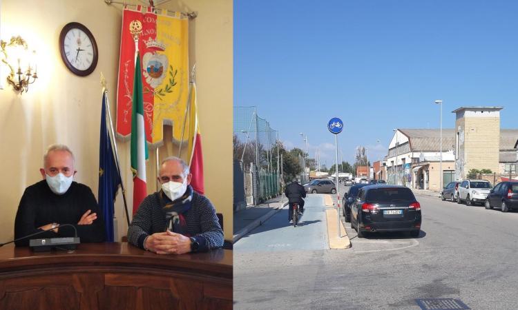 Civitanova, nuovi marciapiedi in via Da Vinci: progetto da 250mila euro, fine dei lavori il 16 agosto