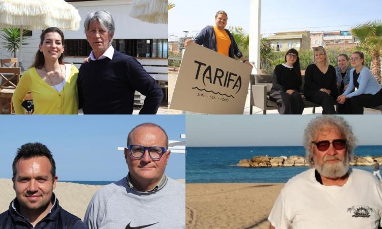 L'estate (per ora) di Porto Potenza: clienti abituali, pochi turisti dall'estero e l'incognita coprifuoco