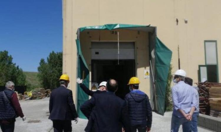 Ricostruzione, terminata la prima opera pubblica a Camerino: il mattatoio torna al 'lavoro'