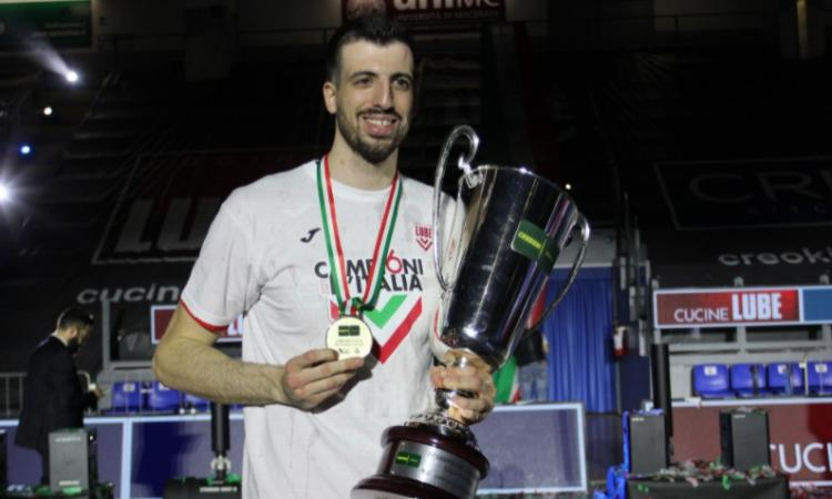 """Lube, ufficiale il rinnovo di Diamantini:  """"Desidero continuare a vincere con il club"""""""
