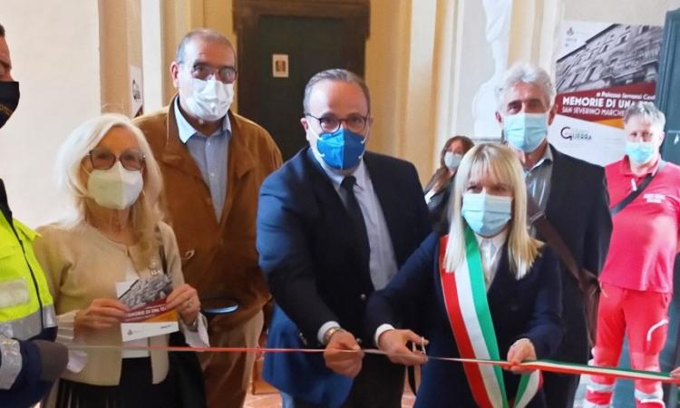 """San Severino, inaugurato il percorso """"Memorie di una Terra"""": una doppia mostra per ripartire"""