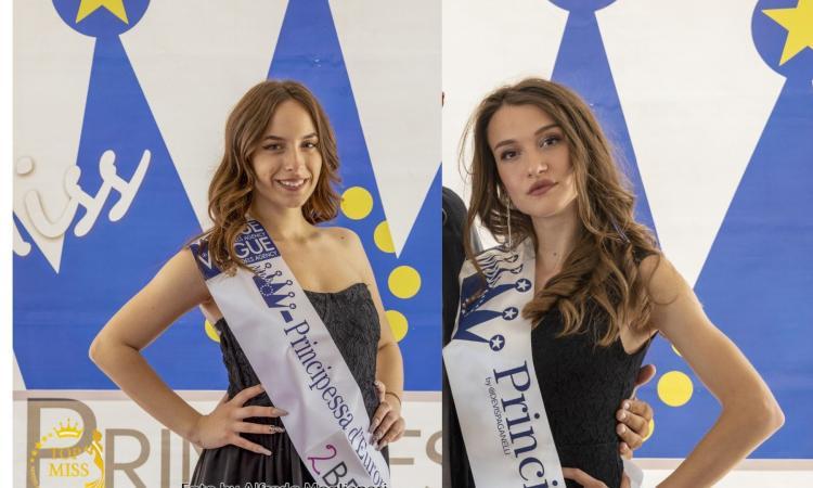In Romagna sfilano le ragazze di Miss Principessa d'Europa: premiate due maceratesi