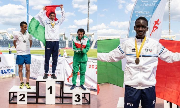 Atletica paralimpica,  due ori per Dieng e Vallone ai Mondiali: gioia per l'Anthropos Civitanova