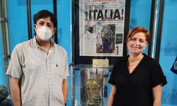 Civitanova, la mostra 'Un secolo di azzurro' apre anche di sera: ingresso gratuito per gli under 10