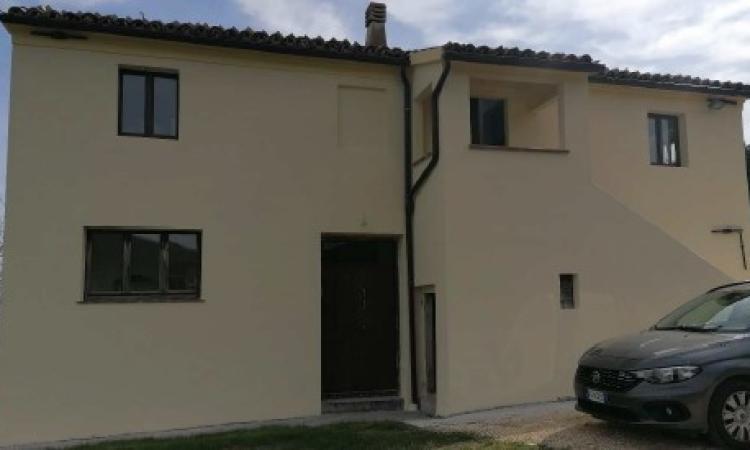 San Severino, torna agibile un'abitazione singola in località Pitino