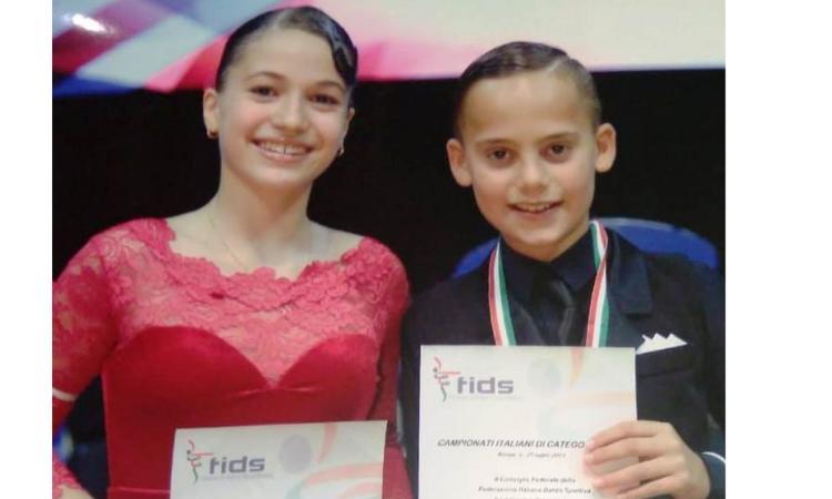 Giovanissimi ballerini settempedani si diplomano campioni d'Italia
