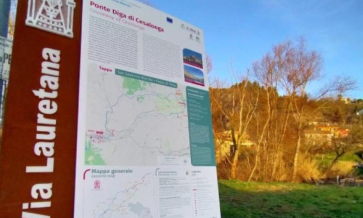"""""""Cammino fuori dal Comune"""": al via progetto sperimentale sulle tratte dell'antica via Lauretana"""