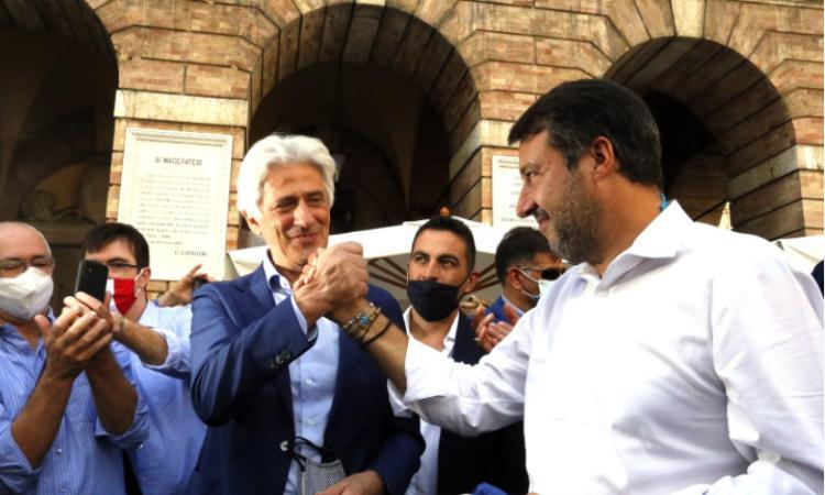 Macerata, Matteo Salvini raccoglie l'invito del sindaco Parcaroli: sarà alla prima dello Sferisterio