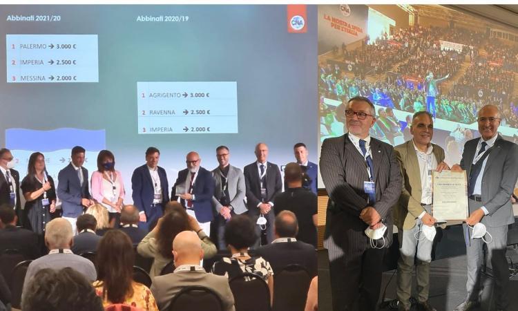 Cna Macerata premiata a Roma: per performance si piazza al settimo posto nazionale nel 2020
