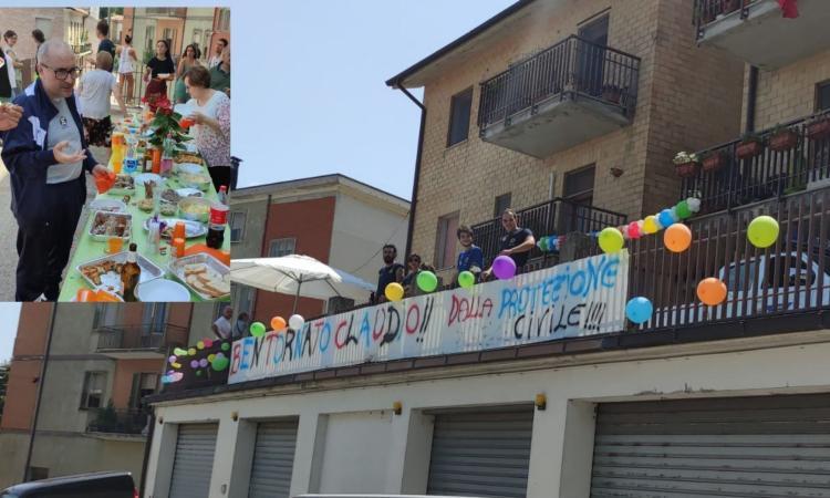 L'incubo del Covid finisce dopo 8 mesi: grande festa per il ritorno a casa di Claudio Corridoni (FOTO e VIDEO)