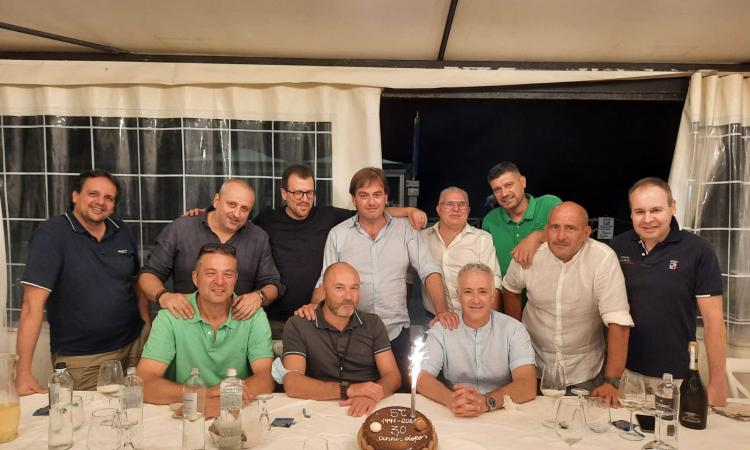 Macerata, reunion a Scossicci per gli studenti della 5^c dell'istituto Tecnico Bramante