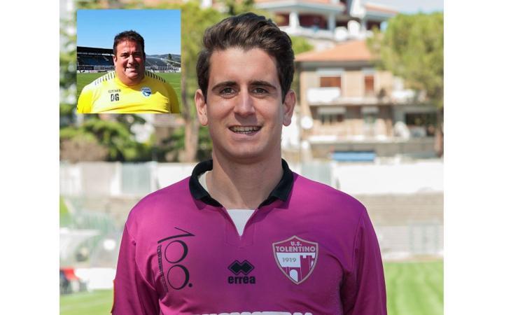 Tolentino, anche il fantasista Severini resta in cremisi: Daniele Grillini nuovo preparatore dei portieri