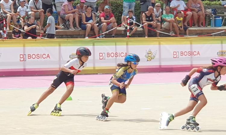Pattinaggio, Juvenilia Pollenza brilla al Roller Bosica Race