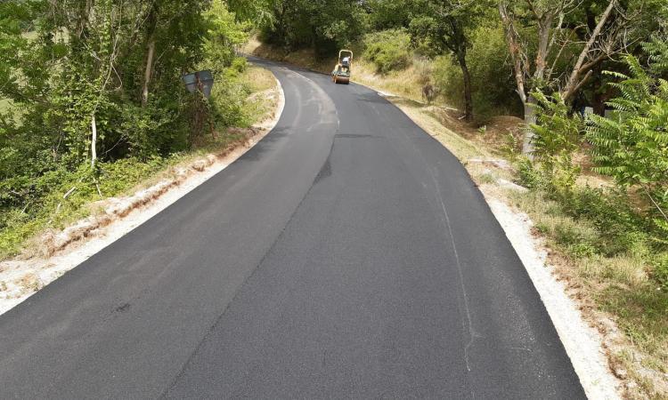 San Severino, completati i lavori di rifacimento del manto stradale: ecco dove