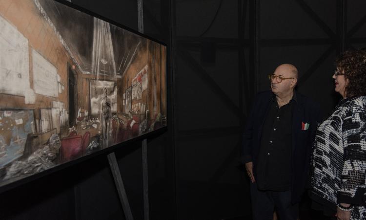 Macerata, oltre 2000 visitatori ad ammirare i bozzetti di Dante Ferretti: ultimi giorni per la mostra