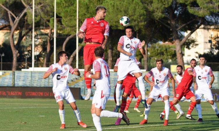 L'Ancona Matelica strappa lo 0-0 a Grosseto: primo pareggio stagionale