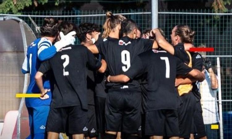Coppa Italia Serie D, esordio scoppiettante per la Recanatese: poker al Castelfidardo