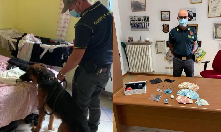 Civitanova, giovane coppia di fidanzati accusata di spaccio: lui viene arrestato, lei denunciata