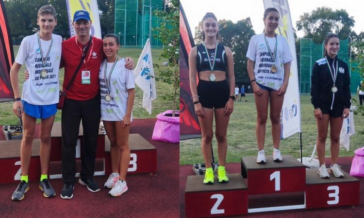 Cus Macerata, l'atletica riparte a suon di medaglie: vinti due ori nella Marcia