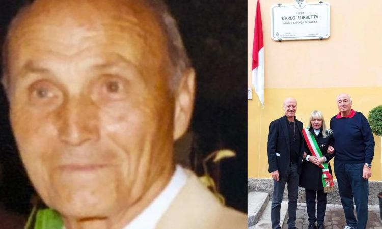 San Severino, svelata la targa del Largo dedicato al dottor Carlo Furbetta: presenti i figli Giorgio e Francesco