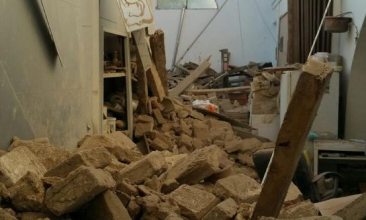 Il terremoto distrugge un'azienda di Tolentino