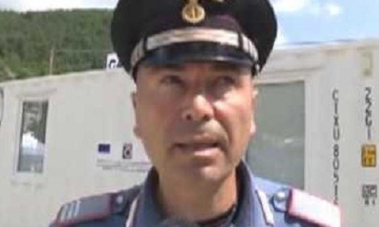 Il comandante dei carabinieri di Arquata si è laureato ad Unicam