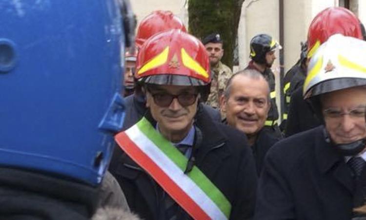 Mattarella in visita a Ussita - FOTO e VIDEO -