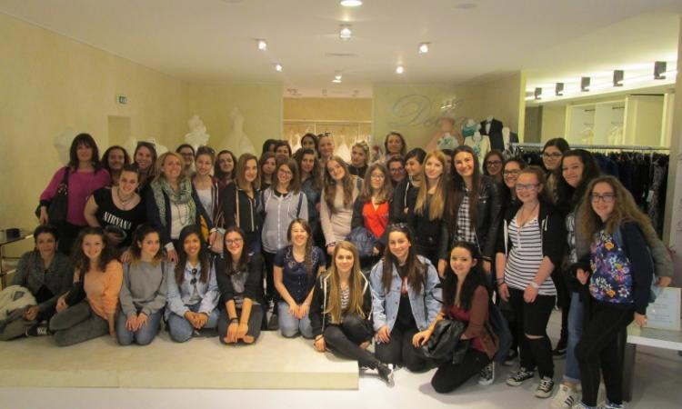 L'Istituto di Moda di Ancona in visita all'azienda Delsa