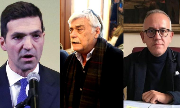 """Centrodestra, a Macerata in scena il film dei """"Soliti Noti"""": per la Regione Acquaroli e Ciarapica appesi al voto in Emilia"""